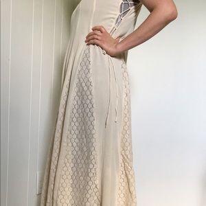 Dresses - Full Circle Boho festival lace dress lace up